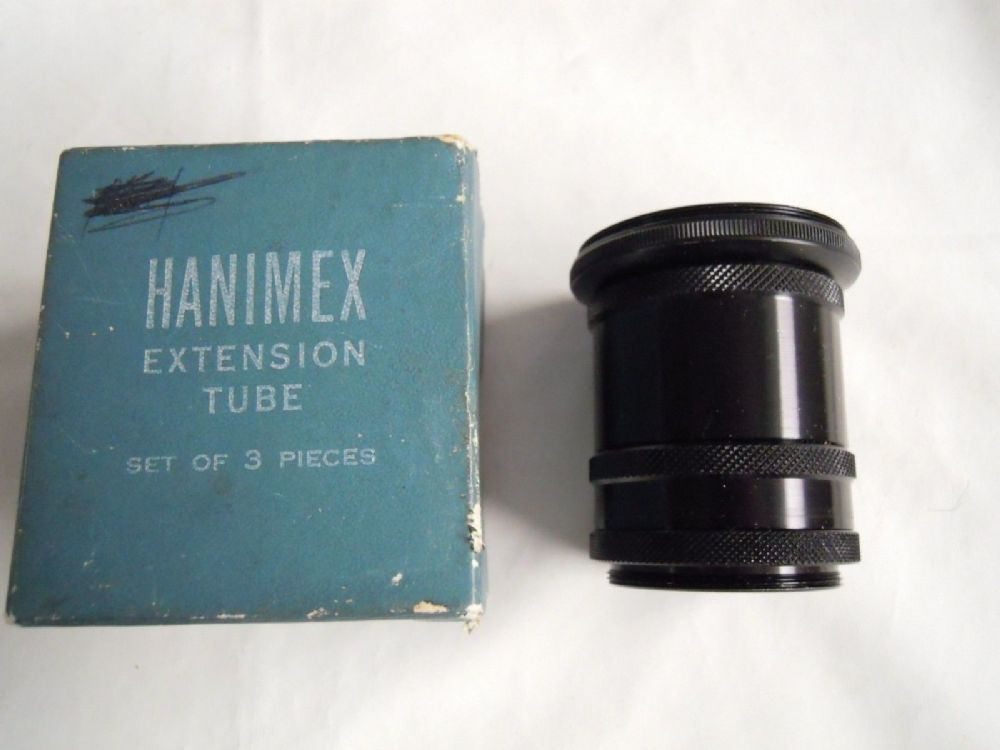 HANIMEX M42 EXTENSION TUBE SET